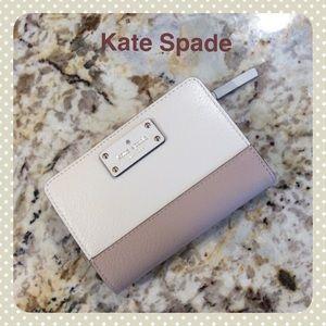 """NEW""  KATE SPADE color block WALLET"